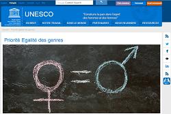 Priorité Egalite des genres Unesco