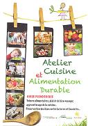 Atelier cuisine et alimentation durable