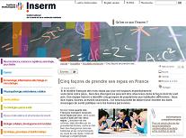 Dossier repas Inserm 2015