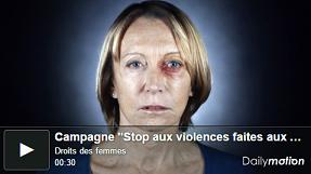 campagne stop violence femmes